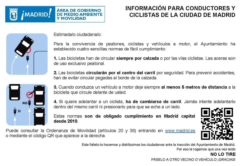 Ordenanzas de tráfico de Madrid