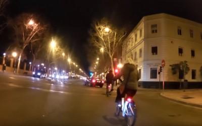 Las bicicletas deben respetar las normas de circulación