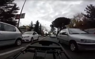 Conducción preventiva e invasión de carriles
