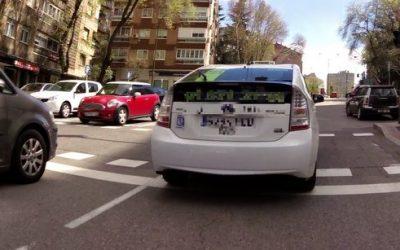Colaboración de un lector – Distancia lateral y taxi en rotonda
