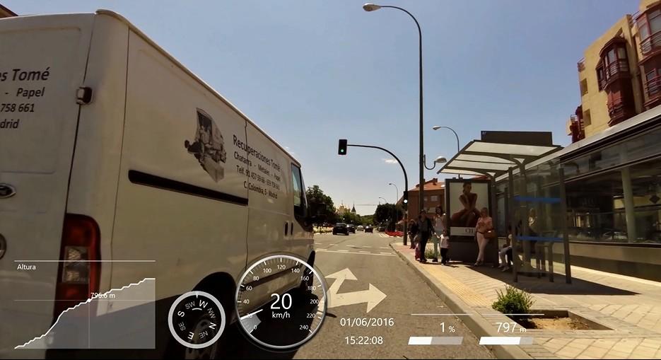 Autopistas urbanas de Madrid: el enemigo del ciclista