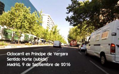Ciclocarriles de Madrid, cagaprisas y otros avatares