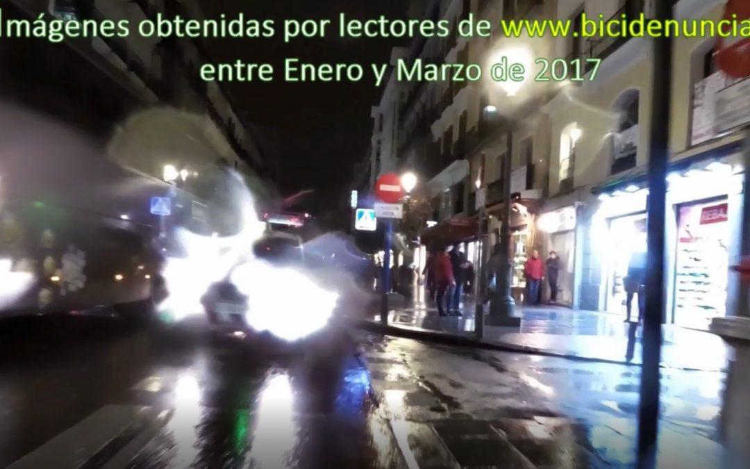 El «modelo Madrid» de los ciclocarriles, o la eterna doble fila